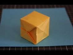New Video up! It could be a Paper Water Balloon or Minecraft Block. Both fun summertime projects, just in time for your 4th of July parties! - Yep, it really holds water! - YouTube - www.youtube.com/origamitwist