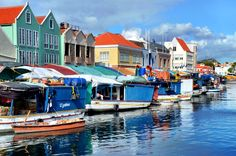 Floating Market in Colorful Curacao