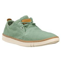 Timberland - Earthkeepers® Hookset Handcrafted Slip-On Herren Green Washed Canvas