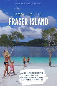 Fraser Island comprehensive guide for any type of traveller. Accommodation options, camping, and must see locations. Sand Island, Fraser Island, Great Night, Australia Travel, Beach Resorts, Worlds Largest, Bucket, Backyard, Camping
