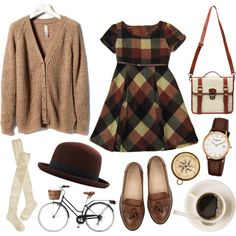 A fashion look from May 2013 featuring black dress, knit cardigan e wool socks. Browse and shop related looks.