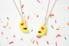 Show Your BFF Some Love With DIY Emoji Necklaces | Brit + Co