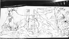 Guernica - Picasso - Fase 1