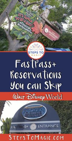 FastPass Reservations You Can Skip - Disney World Tips And Tricks, Disney Tips, Disney 2017, Disney Stuff, Disney Magic, Disney World Florida, Disney World Parks, Disney World Planning, Disney World Attractions