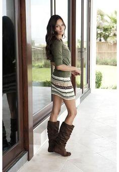 Sweater skirt tutorial - Designs by Sessa