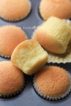 Chinese egg cake--this sponge cake will just melt in your mouth.