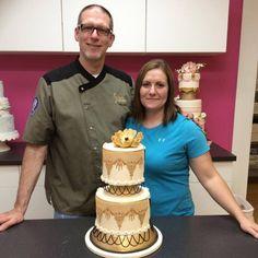 Cake Designer Winde Jackson Bakery Cary, NC Nash Community College Culinary School Rocky Mount, NC