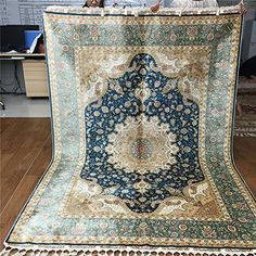 Camel Carpet Silk Handmade Turkish Design Rug 170x245cm https://www.amazon.com/dp/B01HXJ0PIM/ref=cm_sw_r_pi_dp_gTYExb0B7SXVJ