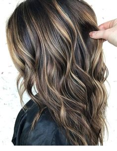 just say how much we love this balayage by Brittany Creech? We had to repost this one more time for that very reason ❤ just say how much we love this balayage by Brittany Creech? We had to repost this one more time for that very reas. Brown Hair Balayage, Brown Blonde Hair, Balayage Brunette, Highlights For Dark Brown Hair, Dark Brown Hair With Highlights And Lowlights, Balayage Highlights, Dark Brown Hair With Blonde Highlights, Short Balayage, Brunette Fall Hair Color
