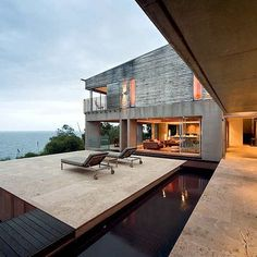 4 bed Villa in Noosa - 340156 - Alinghi Beach House Beach Accommodation, Travertine Floors, Australian Architecture, Architecture Details, Luxury Furniture, Outdoor Spaces, Beach House, Villa, Mansions