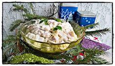 Ewa w kuchni: Świąteczne śledzie w śmietanie i mascarpone Camembert Cheese, Dairy, Food, Mascarpone, Essen, Meals, Yemek, Eten