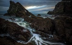 Bowfiddle  rock in a moray, Moray