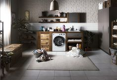 Back from your holiday and overwhelmed by all the clothes you needed to wash? You don't need to be with our range of Smart Solutions washing machines. Cleaning Stainless Steel Appliances, Best Appliances, Cooking Appliances, Kitchen Appliances, Painting Kitchen Cabinets, Kitchen Paint, Domestic Appliances, That Way, Laundry Room