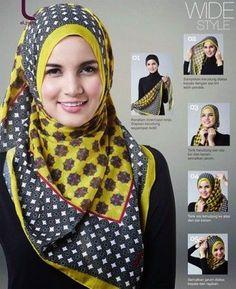 Tutorial Elzatta Hijab http://ibeebz.com