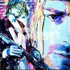 KURT ART Kurt Cobain Art, Nirvana Kurt Cobain, Alphabet Print, Watercolor Tattoo, Concept Art, Artist, Prints, Portraits, Painting