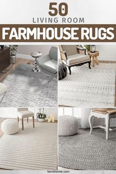 50 Rugs For Farmhouse Living Room Decorating Ideas to make your living room more interesting! 50 Rugs For Farmhouse Living Room Decorating Ideas to make your living room more interesting! Farmhouse Style Rugs, Farmhouse Area Rugs, Rustic Farmhouse Decor, Modern Farmhouse, Farmhouse Interior, Vintage Farmhouse, Rugs In Living Room, Living Room Decor, Room Rugs