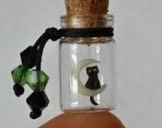 cat in a bottle