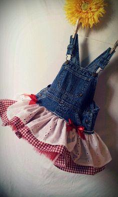 farmers teen daughter in overalls