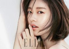 Actress Jung So Min is looking absolutely stunning and radiant with her new makeup photo shoot in 'Elle' magazine for cosmetic brand, 'Makeup Forever'… Korean Actresses, Korean Actors, Korean Beauty, Asian Beauty, Hye Sung, Kwang Soo, Jung So Min, Elle Magazine, Photo Makeup