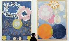 'She sensed a different, unseen world' … works by Hilma af Klint at Serpentine Gallery.