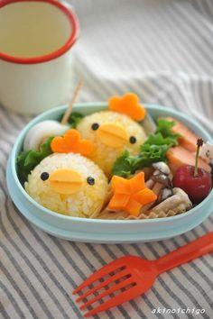 【連載】レシピブログ「にわとりおにぎりのお弁当」