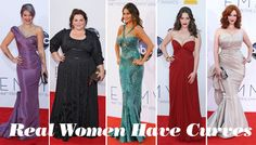 Never Mind Best Dressed, Who Won Best Curves On The Emmy Awards Red Carpet