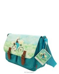 Kori Kumi Coated Satchel - Summertime