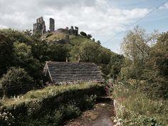 Corfe Castle.