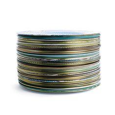 """Enameled Tin """"China"""" Plates"""