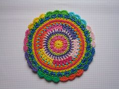 Mandala Wheel for Yarndale | Flickr - Photo Sharing!
