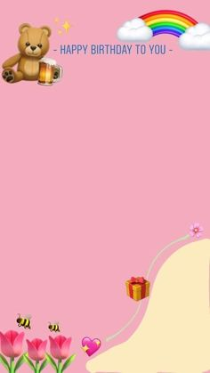 Happy Birthday Template, Happy Birthday Frame, Happy Birthday Posters, Happy Birthday Wallpaper, Birthday Posts, Birthday Frames, Birthday Captions Instagram, Birthday Post Instagram, Instagram Emoji