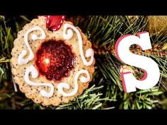 Stained Glass Cookie Decorations Recipe - YouTube