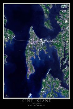 Nestled in the middle of the Chesapeake Bay lies Kent Island, captured here by the ASTER satellite sensor in October of 2013. In the southern portion of the scene, is Polar Island, being rebuilt by la