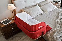 bedside cots/ cuna sidecar