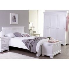 Buy Banbury Elegance Painted Furniture Double Bed 4ft 6   Online From Oak  Furniture House