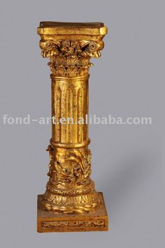 Pu838 Antique Pu Roman Art Pillar Column For Decoration   Buy Decorative  Pillars For Home And Hotel,Decoration For Wedding,Decorative Painting Pillar  ...