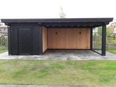 diy backyard shed Backyard Storage, Garden Storage, Backyard Design, Garden Buildings, Patio Design, Garden Room, Carport Designs, Shed Design, Outdoor Kitchen Patio