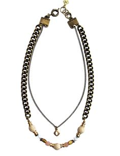 Pink Sunrise Necklace Beaded Necklace, Pendant Necklace, Sunrise, Pink, Jewelry, Products, Fashion, Beaded Collar, Moda