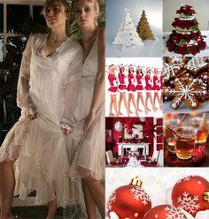 christmas wedding ideas for alternative brides