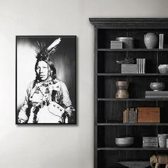 NATIVE AMERICAN MIXGALLERY portrait,face,indian,wallart,canvas,canvas print,home decor, wall,framed prints,framed canvas,artwork,art