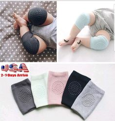 Kids Soft Anti-slip Elbow Cushion Crawling  Knee Pad Infant Toddler Baby Safety #Unbranded