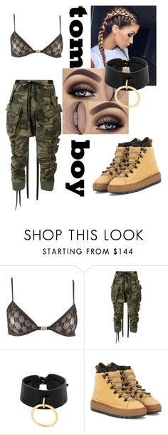"""""""Untitled #133"""" by rawr215 ❤ liked on Polyvore featuring Tom Ford, Unravel, Absidem and Puma"""