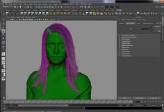Area :: Tutorial :: The Blue Project: Skin Sculpting and Hair Styling http://area.autodesk.com/tutorials/the_blue_project_skin_sculpting_and_hair_styling