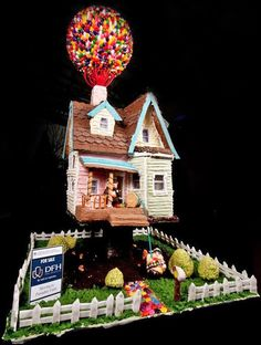 Up gingerbread house.