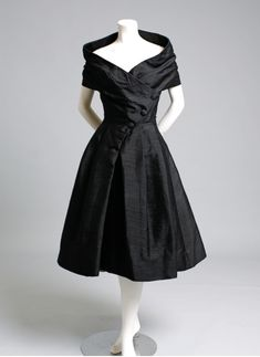 Vintage Christian Dior black gown...so timeless and classy