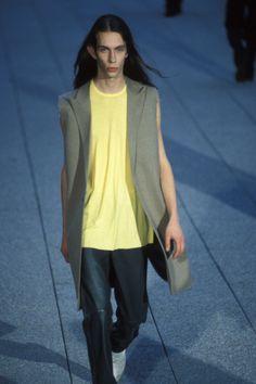 Raf Simons Spring 1999 Menswear Fashion Show Collection