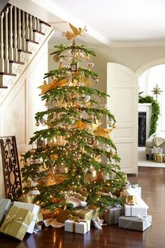silver tip Christmas trees