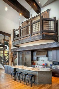 Wow, this kitchen is amazing! #interior #love