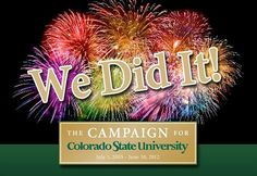 Colorado State University Reaches $500 Million Campaign Goal Ahead of Schedule