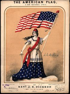 Celebrate Flag Day with songs from the Civil War Sheet Music Collection.